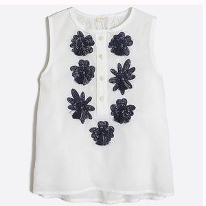 Girls crewcuts sleeveless top